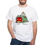 New year PeRoPuuu White T-Shirt