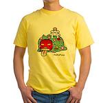 New year PeRoPuuu Yellow T-Shirt