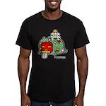 New year PeRoPuuu Men's Fitted T-Shirt (dark)