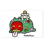 New year PeRoPuuu Postcards (Package of 8)