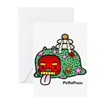 New year PeRoPuuu Greeting Cards (Pk of 10)