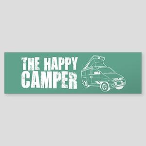 The Happy Camper Sticker (Bumper)