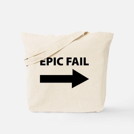 Epic Fail Tote Bag