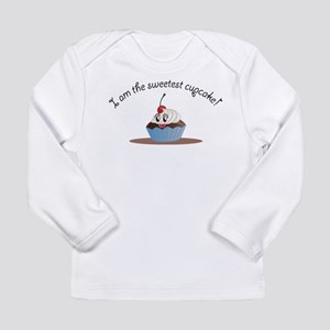 Long Sleeve Infant T-Shirt Sweet cupcake Boy