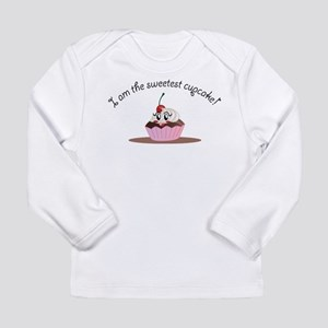Long Sleeve Infant T-Shirt Sweet cupcake Girl