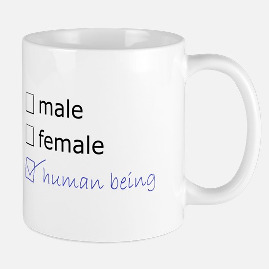 Genderqueer/Trans Human Being Mug