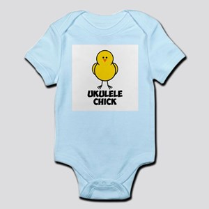 Ukulele Chick Infant Bodysuit