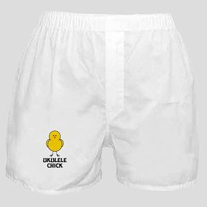 Ukulele Chick Boxer Shorts