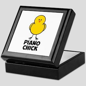 Piano Chick Keepsake Box
