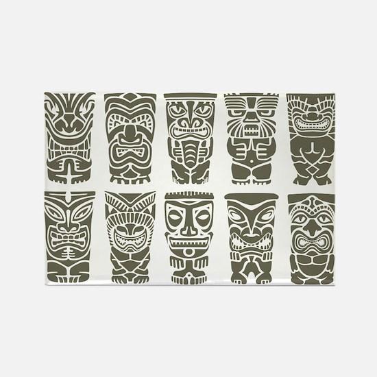Cute Polynesian Rectangle Magnet