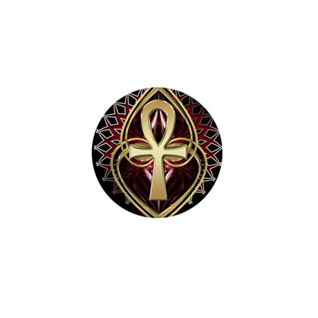 ANKH LOVE 1 Mini Button (10 pack)