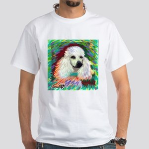 Standard Poodle White T-Shirt