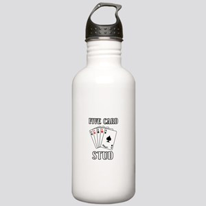 Five Card Stud Stainless Water Bottle 1.0L
