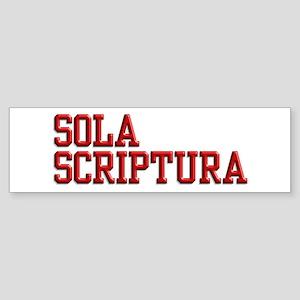 Sola Scriptura College Sticker (Bumper)