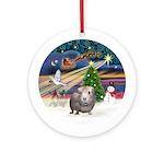 XmasMagic - Guinea Pig #2 Ornament (Round)