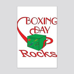 Boxing Day Mini Poster Print