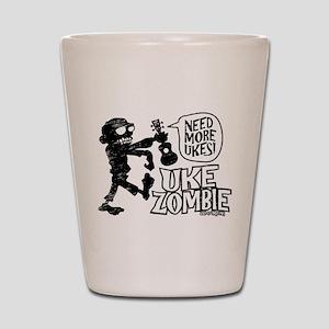 Uke Zombie Shot Glass