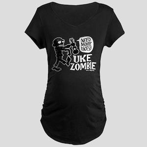 Uke Zombie Maternity Dark T-Shirt