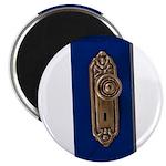 Retro Doorknob Magnet