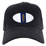 Retro Doorknob Black Cap