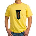 Retro Doorknob Yellow T-Shirt