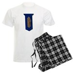 Retro Doorknob Men's Light Pajamas