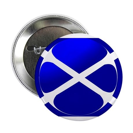 "Scottish Flag Design 2.25"" Button (10 pack)"