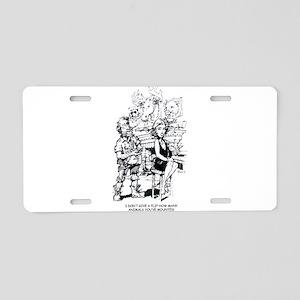 Killbilly Aluminum License Plate