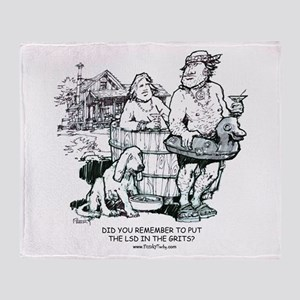 Hipbilly Throw Blanket