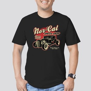 Nor-Cal Speed Shop Men's Fitted T-Shirt (dark)