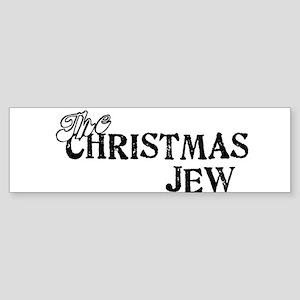 The Christmas Jew Sticker (Bumper)