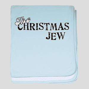 The Christmas Jew baby blanket