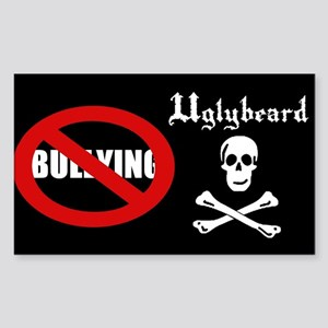 Uglybeard Anti-Bullying Sticker (rectangle)