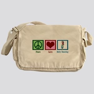 Peace Love Belly Dancing Messenger Bag