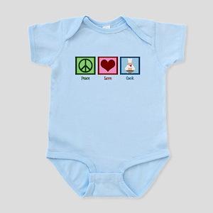 Peace Love Cook Infant Bodysuit