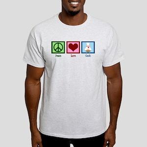 Peace Love Cook Light T-Shirt
