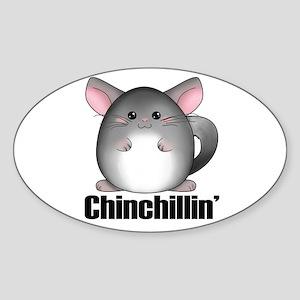 chinchillin Sticker