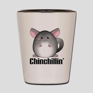 Chinchillin' Shot Glass