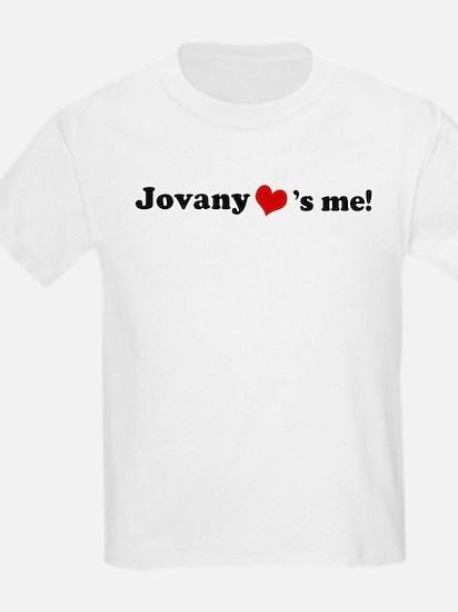 Jovany loves me Kids T-Shirt