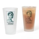Jane Austen WWJ Drinking Glass