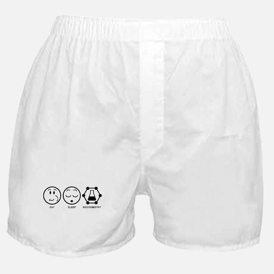 Eat Sleep Biochemistry Boxer Shorts