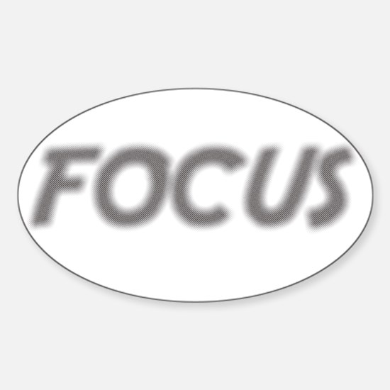 Focus! Sticker (Oval)