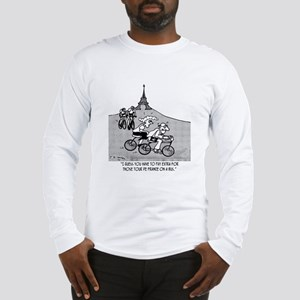 Pay Extra For Tour de France on a Bus Long Sleeve