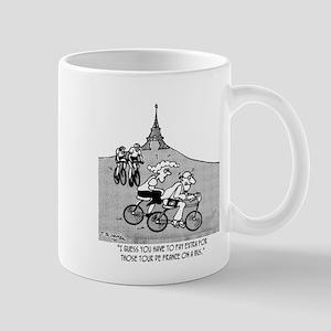 Pay Extra For Tour de France on a Bus Mug