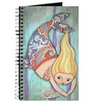 Cute Chubby Mermaid Blank Journal