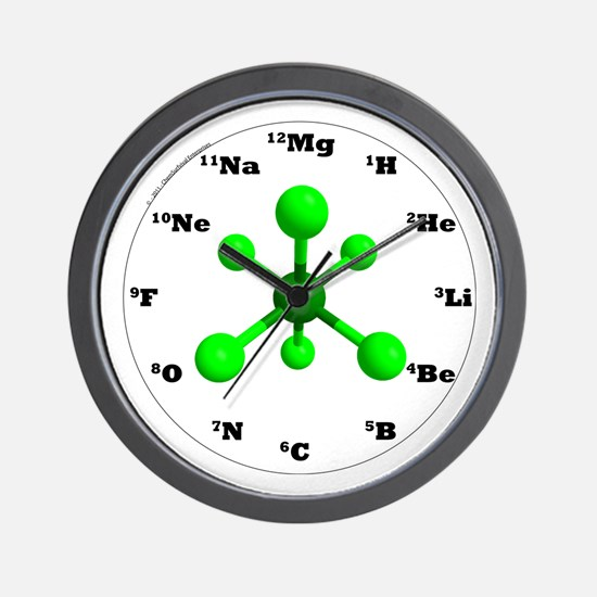 Elements Wall Clock - Green