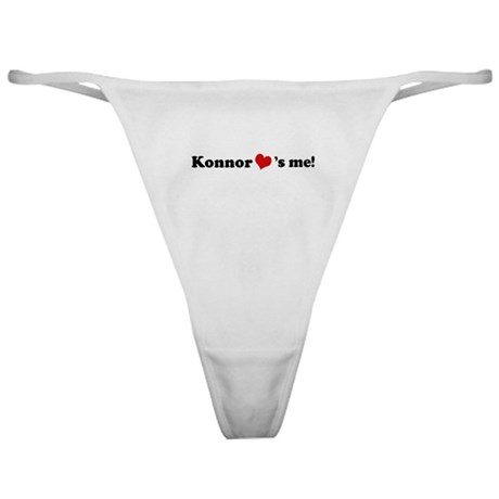 Konnor loves me Classic Thong