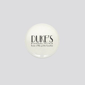 Black DUKE Martini Mini Button