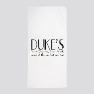 Black DUKE Martini Beach Towel