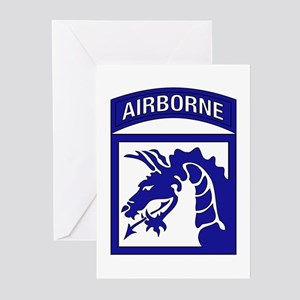 XVIII Airborne Corps Greeting Cards (Pk of 10)